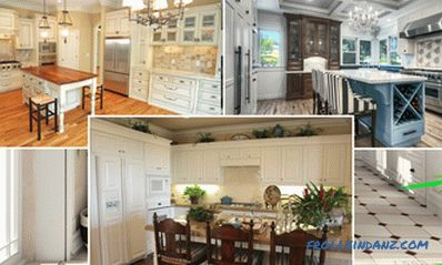 White kitchen in an interior - 41 photos idea of ​​an interior of a kitchen in classical white color