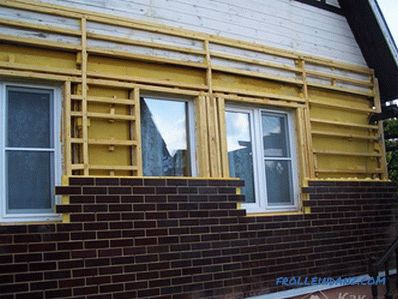 Installation of thermopanels - how to install front panels
