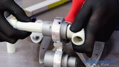 How to solder polypropylene pipes do it yourself + video