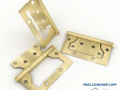 Do-it-yourself door hinge installation