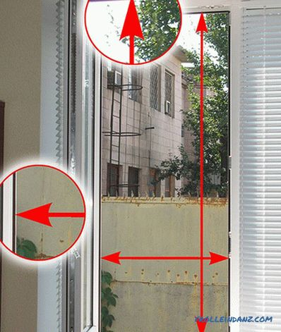 How to measure mosquito net - measurements and installation of mosquito net