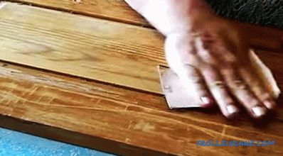 Do-it-yourself kitchen furniture repair