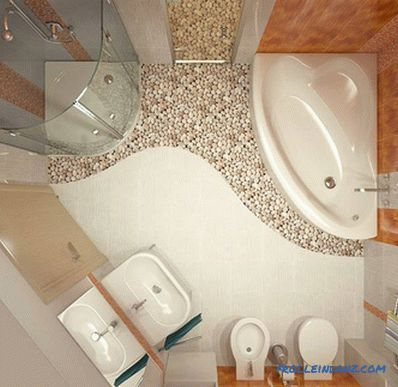 Bathroom redevelopment - how to make redevelopment in the bathroom (+ photo)
