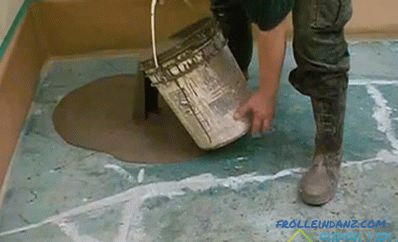 Leveling the floor under the laminate - wood or concrete + Video