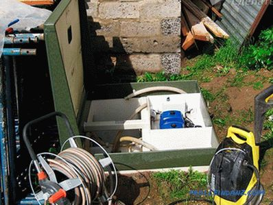 Installation of a septic tank Topas own hands