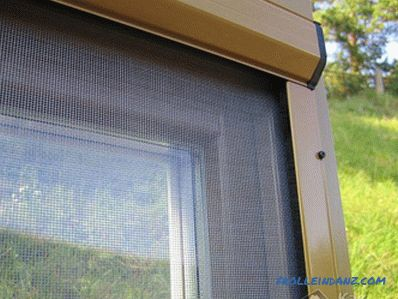 how to install a mosquito net on a plastic window