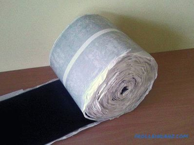 Tapes for windows - types of insulation tapes