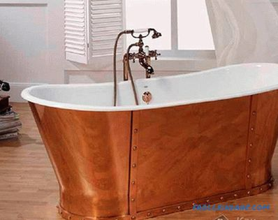 How to choose a cast iron bath - which of the high quality cast iron baths