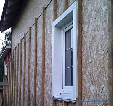 How to sheathe the window siding - mounting siding on the window opening + photo