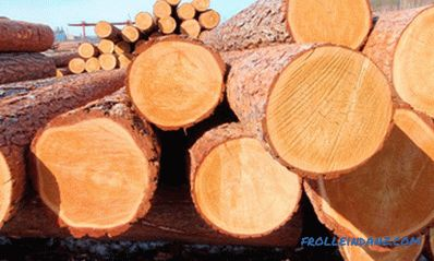 How to calculate the cubic capacity of round wood on the basis of tables