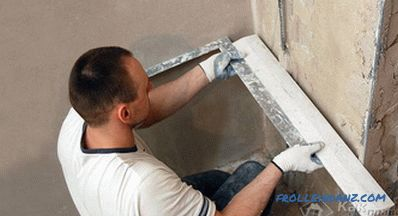 How to plaster the corners of the walls - plastering the corners