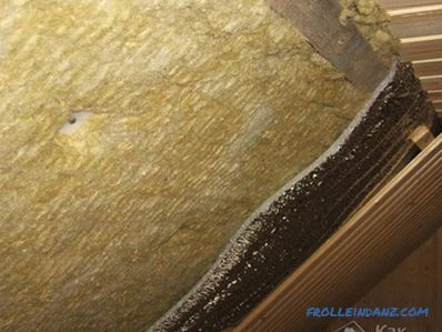 How to insulate the roof from the inside - roof insulation technology