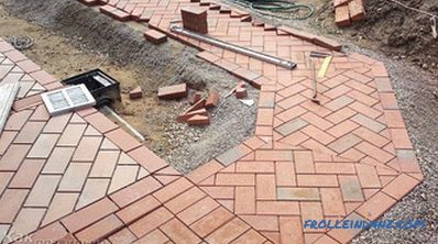 How to lay paving stones - laying paving stones