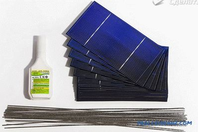 Do-it-yourself solar panels - how to make at home (+ photos)