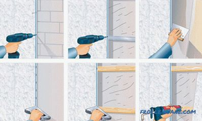 How to fix plastic panels to the ceiling or wall correctly and without errors