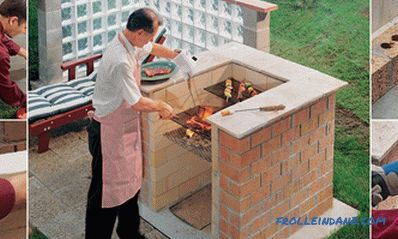 Brick DIY Barbecue
