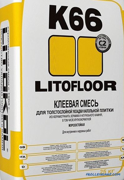Glue for porcelain tiles - which one is better to choose