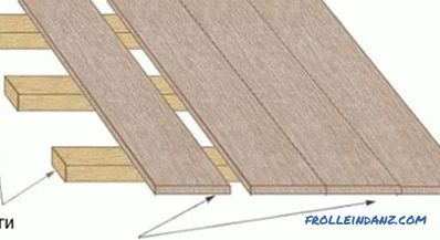 How to make the floor of the boards in the garage: recommendations