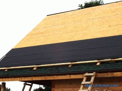 How to cover the roof with a soft roof with your own hands