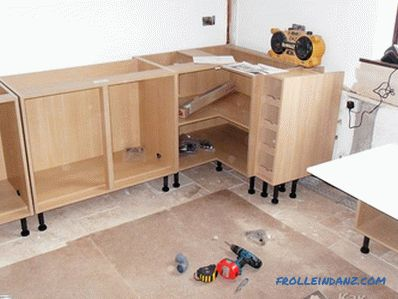 Do-it-yourself kitchen set - making kitchen set (+ photo)