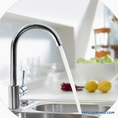 How to choose faucets for the kitchen, taking into account every detail + Video