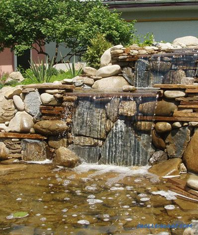 How to make a fountain in the country with their own hands + video