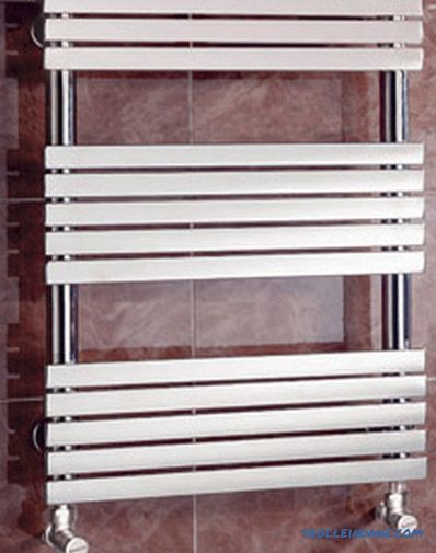 How to choose a heated towel rail for the bathroom, water or electric