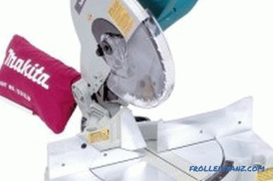 How to choose a miter saw - the main criteria