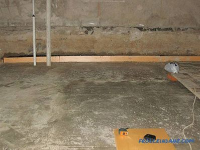 How to insulate the floor in the basement