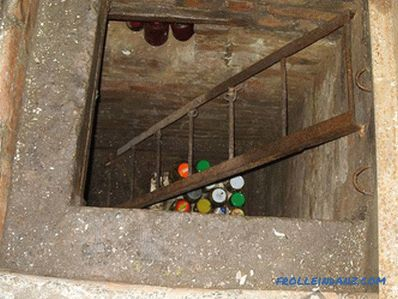 How to make a cellar ventilation