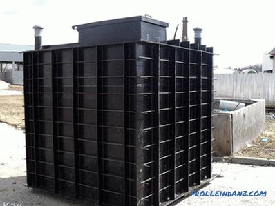 Plastic cellar for giving - the choice and installation (+ schemes)