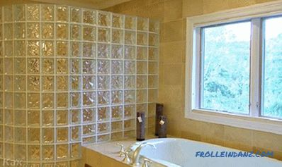 How to install glass blocks - instructions for installing walls of glass blocks