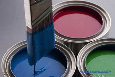 What paint to paint wallpaper - selection of paint for wallpaper