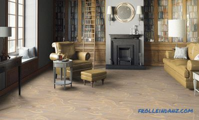 Semi-commercial linoleum technical characteristics and properties