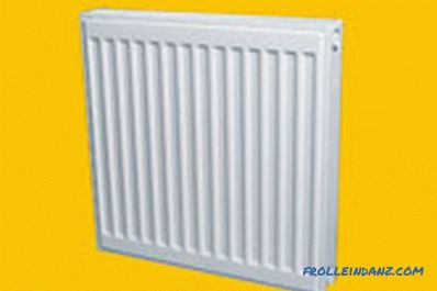 Steel heating radiators - technical specifications + Video