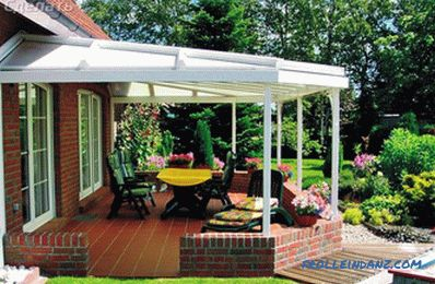 Do it yourself terrace - how to build a veranda (photo)
