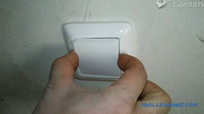 How to move the light switch to another location
