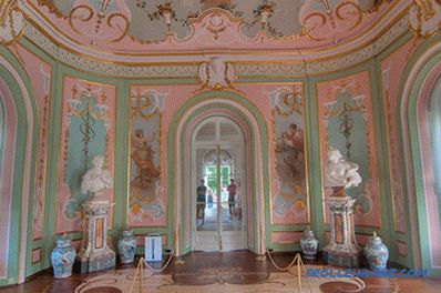 Rococo style in the interior - the rules of design and photo ideas embodiment