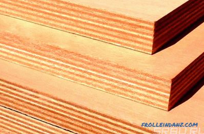 Plywood grades, sheet sizes, types and types of brands