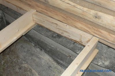 How to soak floor lags: types of modern impregnation