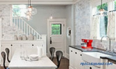 Chandeliers for the kitchen - photos of lamps in the interior of various styles