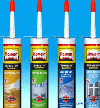 Which sealant is better to choose for the bathroom