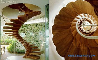 Spiral staircase do it yourself + photo scheme