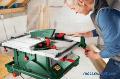 Circular saw selection: features and specifications