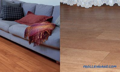 Laminate or linoleum is better, what to choose, what is cheaper, what is more harmful + Video