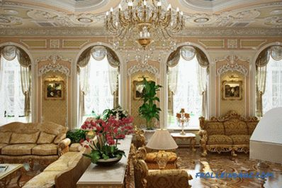 Baroque style in the interior - design rules and 40 photo ideas