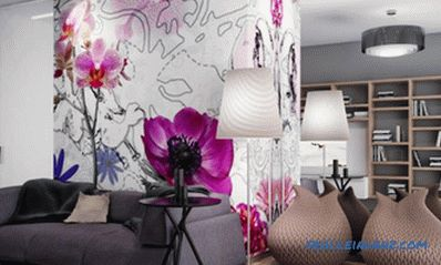 Combining wallpaper in the interior - the ways and basic rules + Photo and Video