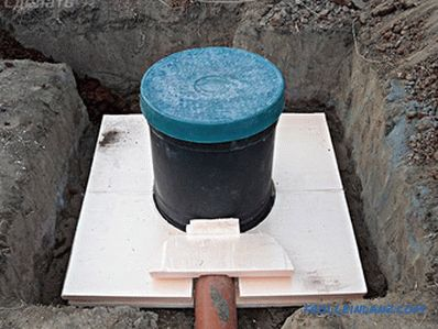 Installing a septic tank with your own hands