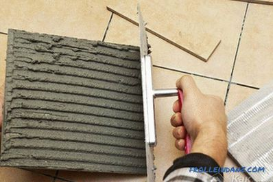 Do-it-yourself porcelain stoneware - detailed instructions