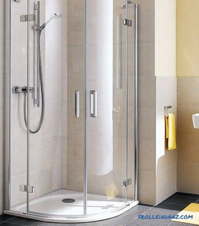 How to assemble a shower cabin with your own hands